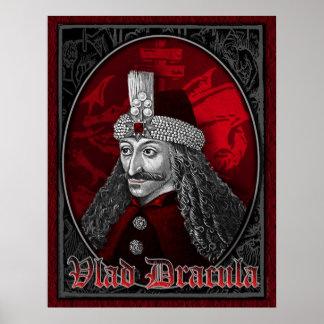 Poster Vlad Dracula gothique