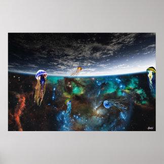 Poster Voler en mer des étoiles