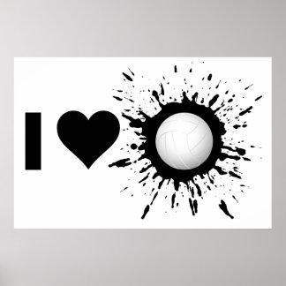 Poster Volleyball 1 d'amour de l'explosif I