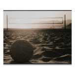 Poster Volleyball dans le sable