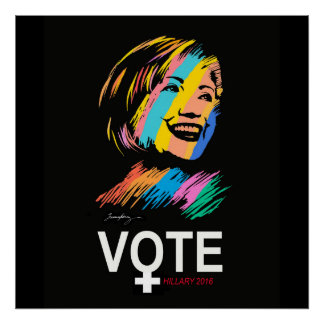 Poster voteHILLARY2016