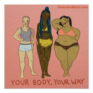 Poster Votre corps votre manière