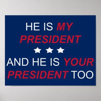 Poster Votre président