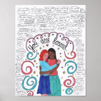 Poster Vous êtes aimés