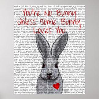 Poster Vous n'êtes aucun lapin