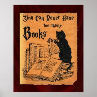 Poster Vous pouvez ne jamais avoir trop d'affiche de chat