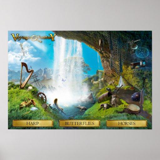 Poster Voyage to Fantasy - The Lorelei