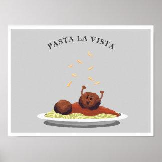 Poster Vue de La de pâtes !