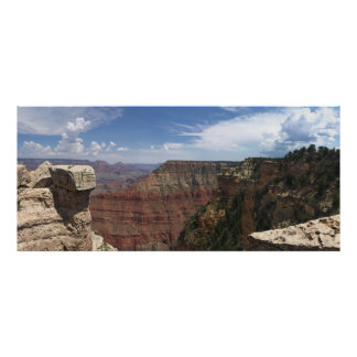Poster Vues de canyon grand