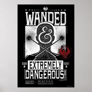 Poster Wanded et affiche voulue extrêmement dangereuse -