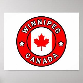 Poster Winnipeg Canada