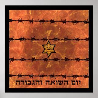 Poster Yom Hashoah