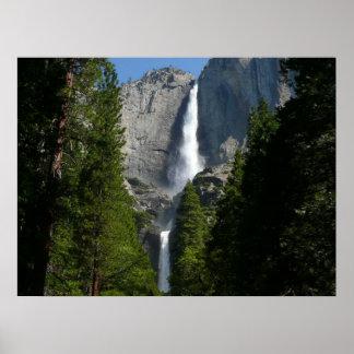 Poster Yosemite Falls II de parc national de Yosemite