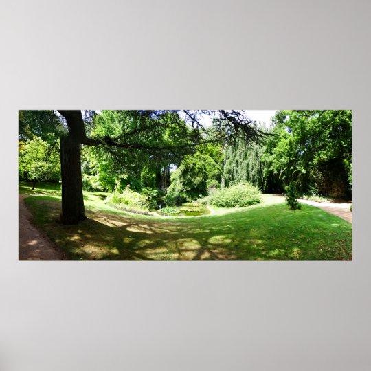 Poster Zen garden 01