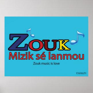 Poster : ZOUK sé lanmou Posters