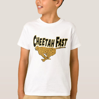 Posters de animaux sauvages rapides de guépard t-shirt