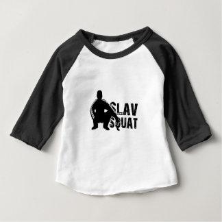 Posture accroupie de Slave T-shirt Pour Bébé