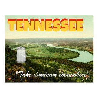 """Pot carte postale Stevens-orientée au Tennessee"""