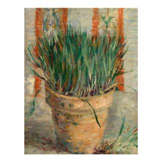 Pot de fleurs de Van Gogh avec des beaux-arts de Prospectus 21,6 Cm X 24,94 Cm
