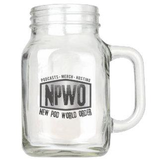 Pot de maçon de NPWO (20 onces)
