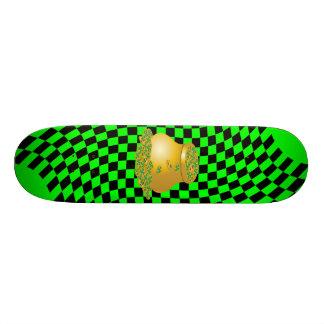 Pot de plate-forme de planche à roulettes d'or planche à roulette