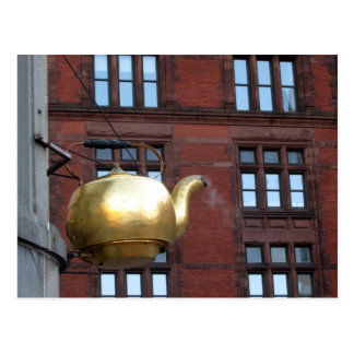Pot de thé de Boston Carte Postale