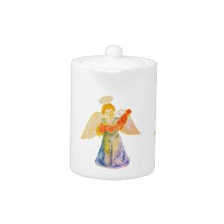 Pot de thé : Fleurs de offre d'ange