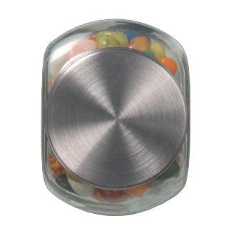 Pot personnalisé de sucrerie de Jelly Belly Pot En Verre