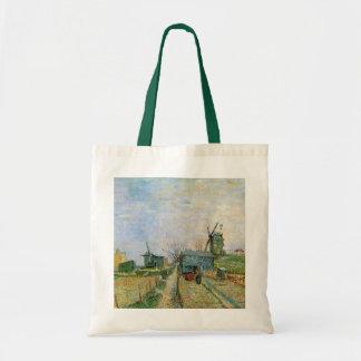 Potager de Van Gogh dans Montmartre, beaux-arts Sac De Toile