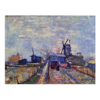 Potagers et Moulin De Sang-Aileron Carte Postale