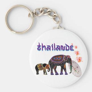 Pote-clés Thailande Porte-clé Rond