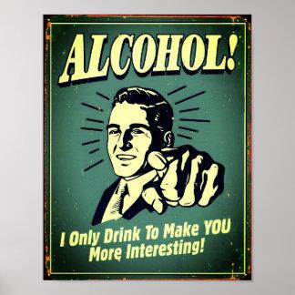 Poteau Alcohol Pour Décoration de Bar