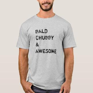 Potelé et impressionnant chauves t-shirt