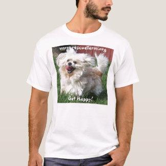 Potelé obtenez heureux ! t-shirt