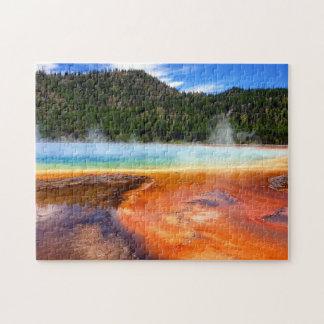 Pots de peinture de Yellowstone Puzzle