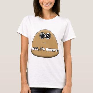 Pou affamé avec le texte t-shirt