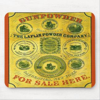Poudre à vendre la publicité vintage de ~ ici tapis de souris