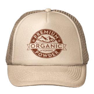 Poudre organique de la meilleure qualité du Wyomin Casquette Trucker