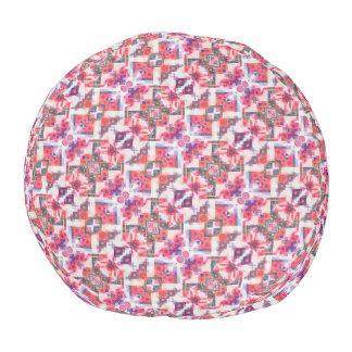 Pouf de polyester de confusion de confettis
