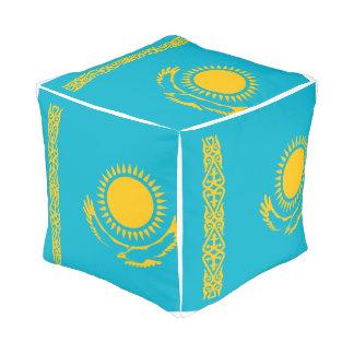 Pouf Drapeau de Kazakhstan
