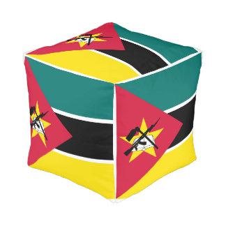Pouf Drapeau de la Mozambique