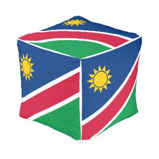 Pouf Drapeau de la Namibie