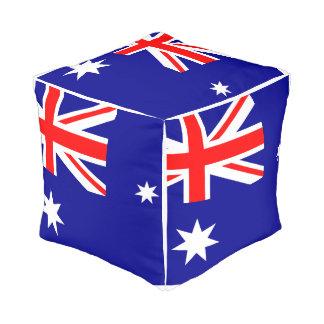 Pouf Drapeau de l'Australie