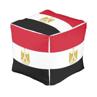 Pouf Drapeau de l'Egypte