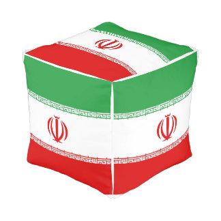 Pouf Drapeau de l'Iran