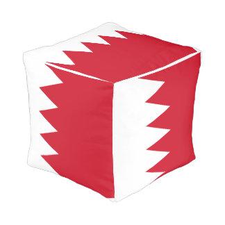 Pouf Drapeau du Bahrain