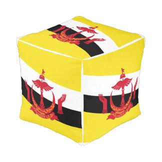 Pouf Drapeau du Brunei