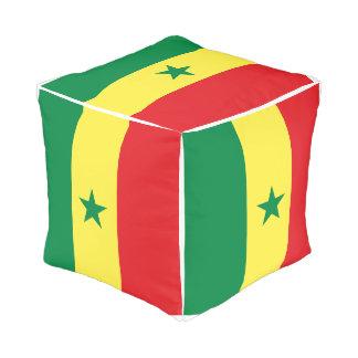 Pouf Drapeau du Sénégal