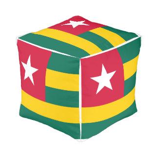 Pouf Drapeau du Togo