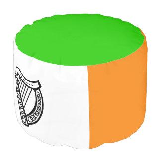 Pouf Drapeau irlandais
